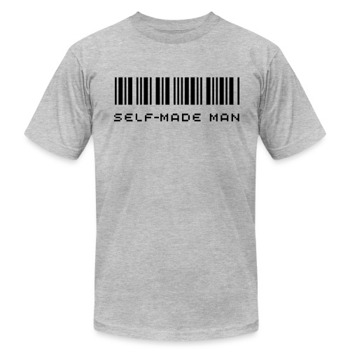 self-made man - Men's  Jersey T-Shirt