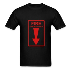 Fire Extinguisher (black) - Men's T-Shirt