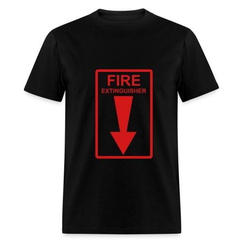 Fire Extinguisher (black) - Men's T-Shirt