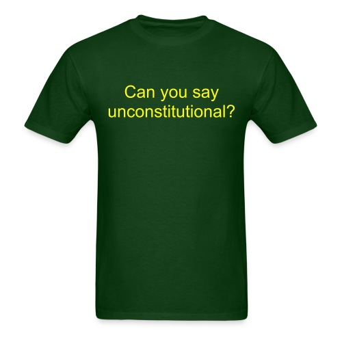 unconstitutional - Men's T-Shirt