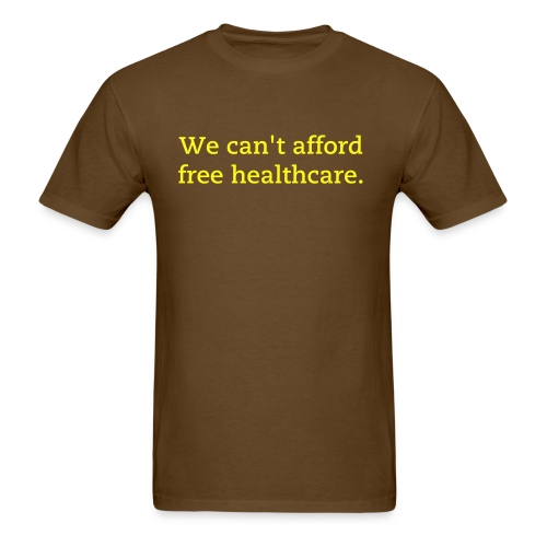 free healthcare - Men's T-Shirt