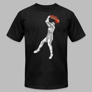 Exciting Basket - Double Dribble - Men's T-Shirt by American Apparel