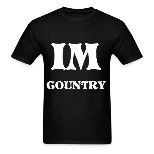 COUNTRY BOY - Men's T-Shirt