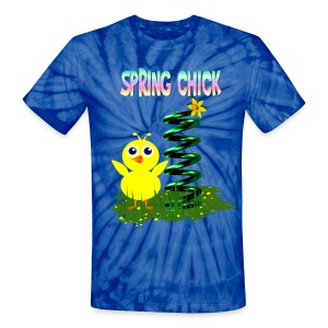 Spring Chick - Unisex Tie Dye T-Shirt