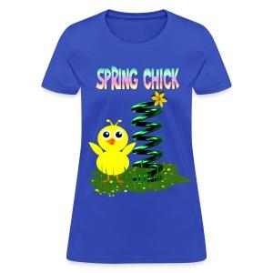 Spring Chick - Women's T-Shirt