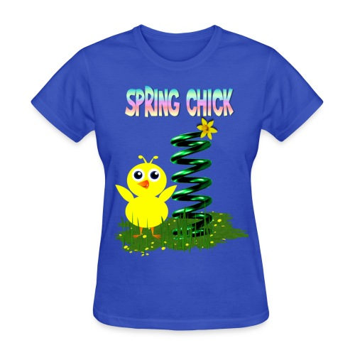 Spring Chick - Women's T-Shirt