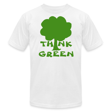 White think green T-Shirts