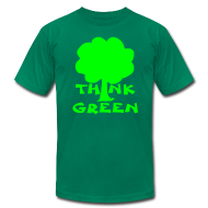 T-Shirts ~ Men's T-Shirt by American Apparel ~ Earth Day Tee