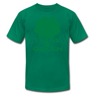 Earth Day Tee - Men's T-Shirt by American Apparel