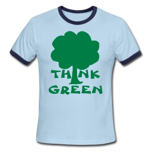 Earth Day Tee - Men's Ringer T-Shirt