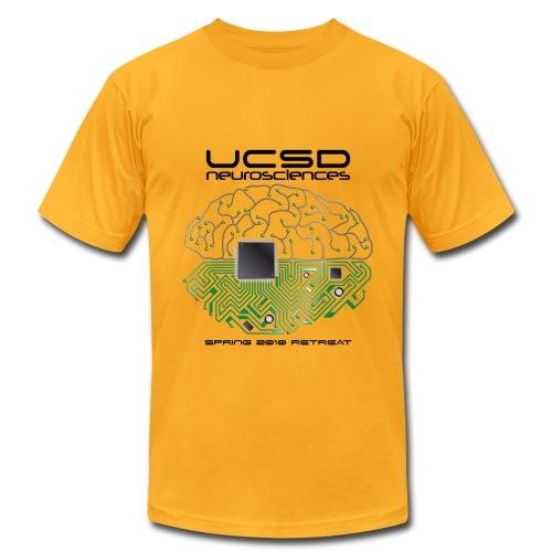 2010 UCSD Neurosciences Retreat (Men's with Black Font) - Men's Fine Jersey T-Shirt