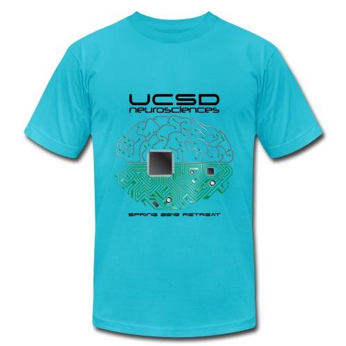 2010 UCSD Neurosciences Retreat (Men's with Black Font) - Men's  Jersey T-Shirt