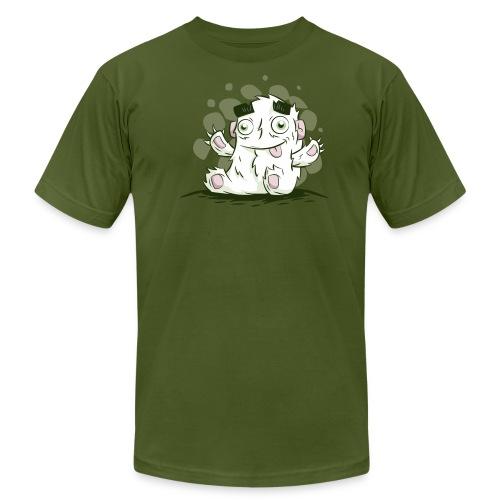 Cute Monster Character - Men's Fine Jersey T-Shirt