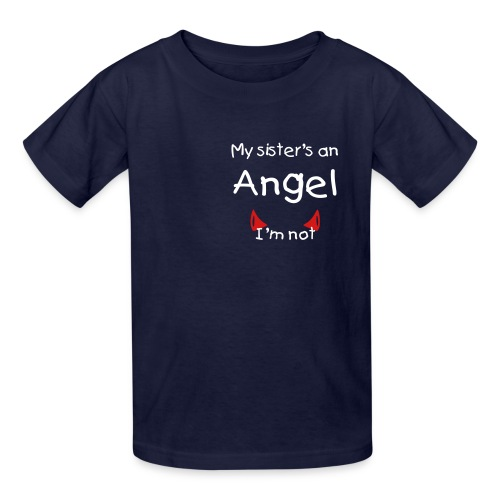 my sister is..... - Kids' T-Shirt