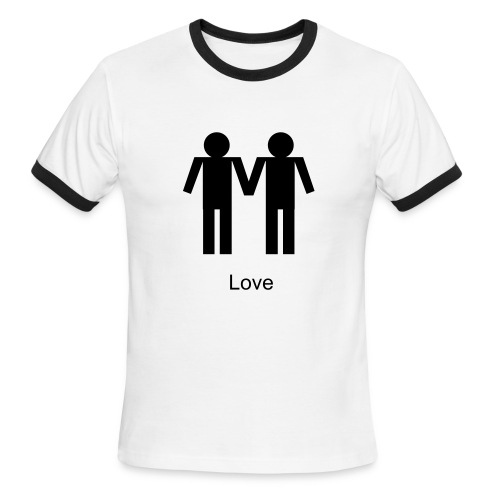 Boy Love - Men's Ringer T-Shirt