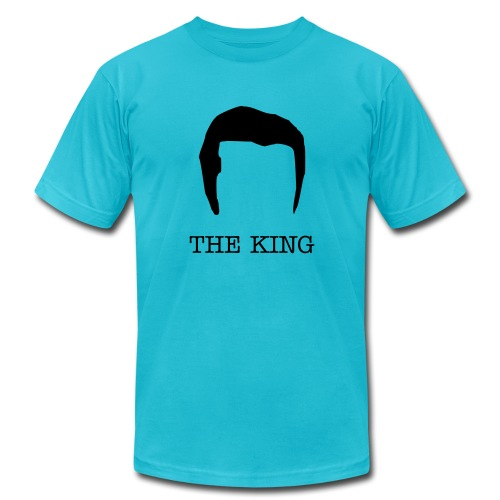 Mens The King Elvis Tee - Men's  Jersey T-Shirt