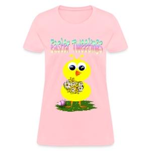 Easter Tweetings - Women's T-Shirt