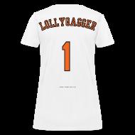Women's T-Shirts ~ Women's T-Shirt ~ Women's F/B: CC/Lollygagger (white)