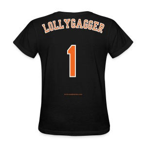 Women's F/B: CC/Lollygagger (black) - Women's T-Shirt