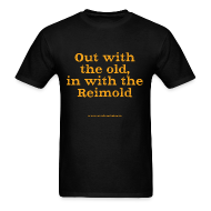 T-Shirts ~ Men's T-Shirt ~ Men's F: ...in with Reimold (black)