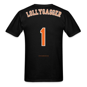 Men's F/B: CC/Lollygagger (black) - Men's T-Shirt