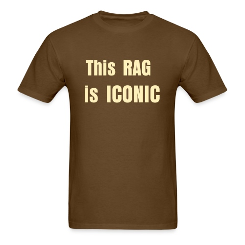 This Rag is Iconic - Men's T-Shirt