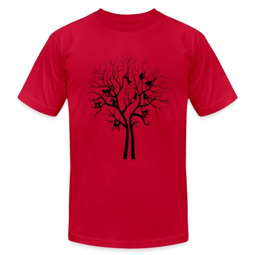 The Monkey Tree - Gentlemen's Tee - Men's  Jersey T-Shirt