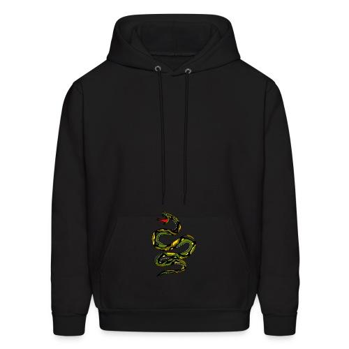 black snake hoodie - Men's Hoodie