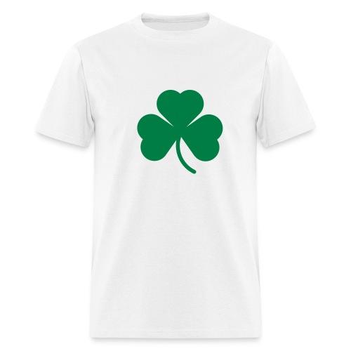 Men's T-Shirt - plain tee with irish logo