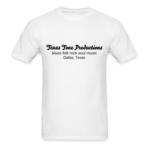 TX Tone Productions - white T - Men's T-Shirt