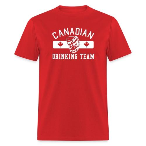 Canadian Drinking Team Men's T-Shirt - Men's T-Shirt