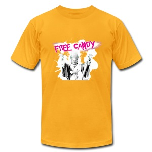 Free Candy - Men's T-Shirt by American Apparel