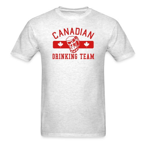 Canadian Drinking Team Men's T-Shirt - Men's T-Shirt
