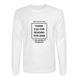 Polite Long - Men's Long Sleeve T-Shirt