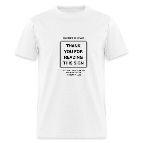Polite Lite - Men's T-Shirt