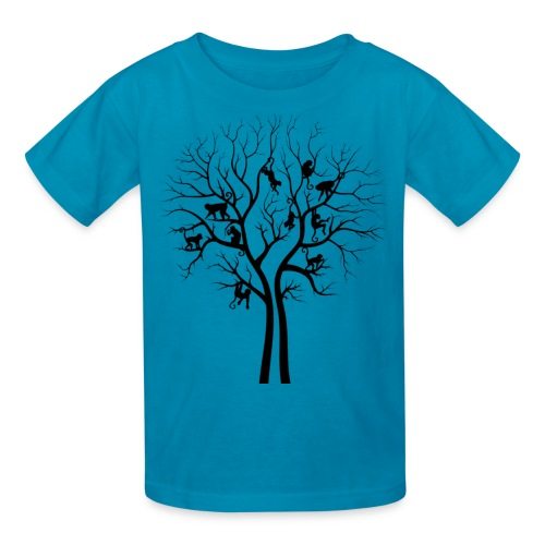The Monkey Tree -   Kiddos' Tee - Kids' T-Shirt