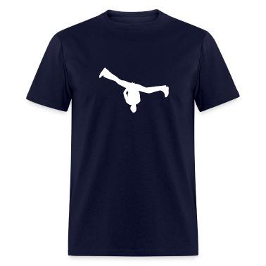 Navy breakdance T-Shirts