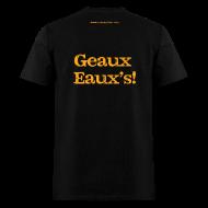 T-Shirts ~ Men's T-Shirt ~ Men's F/B: CC/Geaux Eaux's! (black)