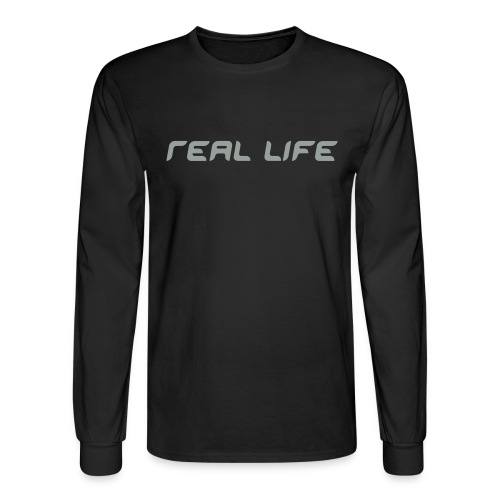 Real Life Long Sleeve Tee - Men's Long Sleeve T-Shirt