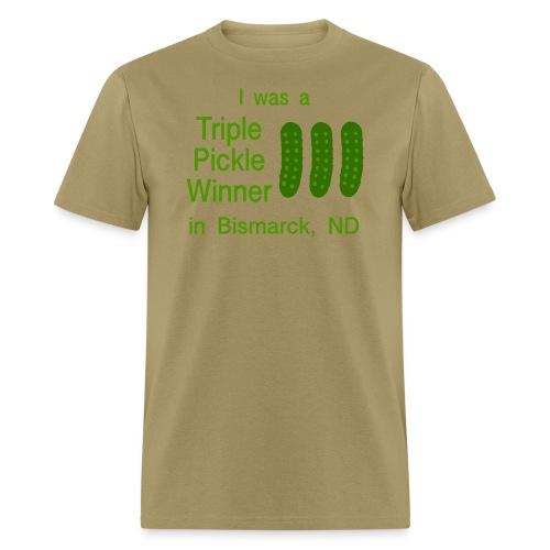Funny t-shirt pickle bismarck - Men's T-Shirt
