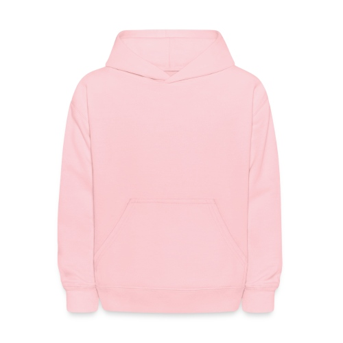 Kids Baby Pink Long Sleeve Hooded Sweatshirt - Kids' Hoodie
