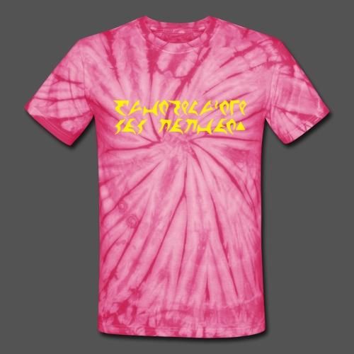 Good Day to Dye (Yellow) - Unisex Tie Dye T-Shirt