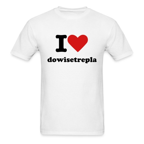 Dowisetrepla - Men's T-Shirt