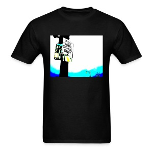Obey your signal only - Men's T-Shirt