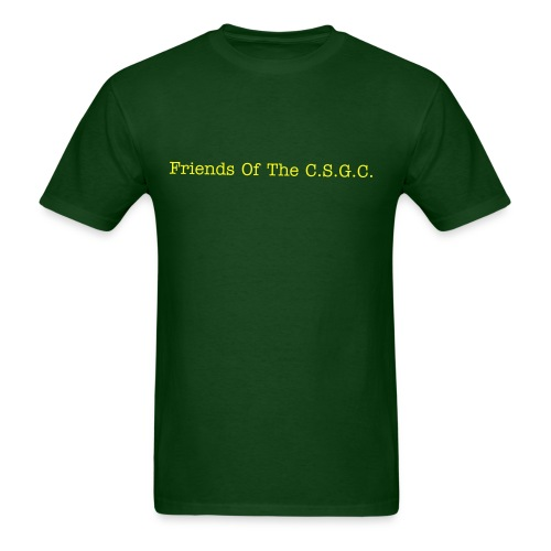 3 Xl T shirt For Men (Connecituct Small Game Club) Friends of the Club Mens Standard Weight T Shirt - Men's T-Shirt