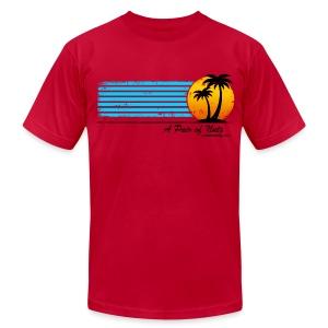 Nuts Tourist American Apparel Tee - Men's Fine Jersey T-Shirt