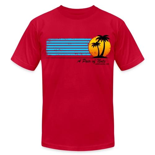 Nuts Tourist American Apparel Tee - Men's  Jersey T-Shirt