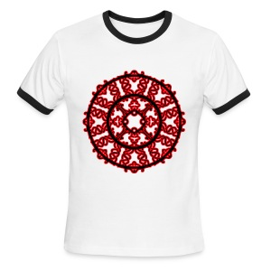Braided Sun - Men's Ringer T-Shirt
