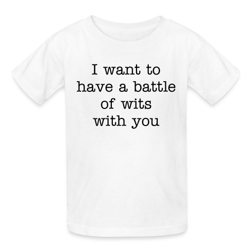 Childs Battle of Wits - Kids' T-Shirt
