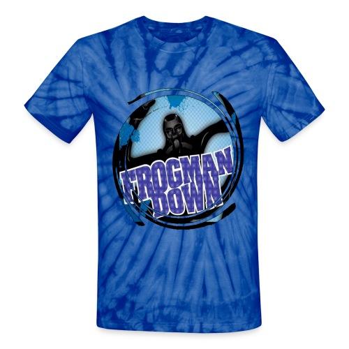Frogman tie dye swirl - Unisex Tie Dye T-Shirt